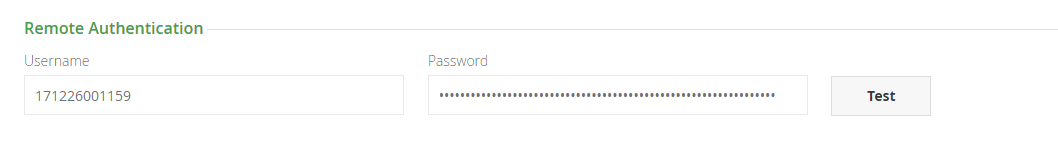 Incorrect username, password or no permission to use the