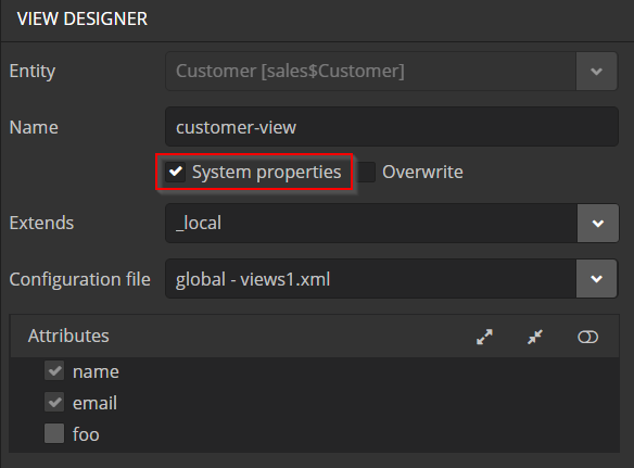 view_system_properties
