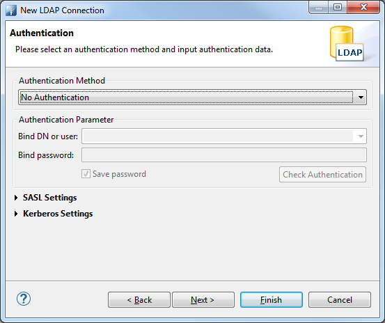 How to start a local LDAP server and connect a CUBA application to