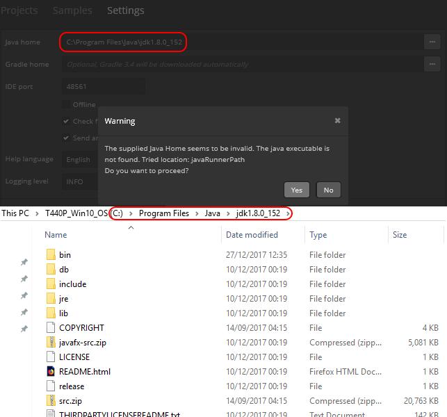 Cannot run application server - JAVA errors - Support - CUBA